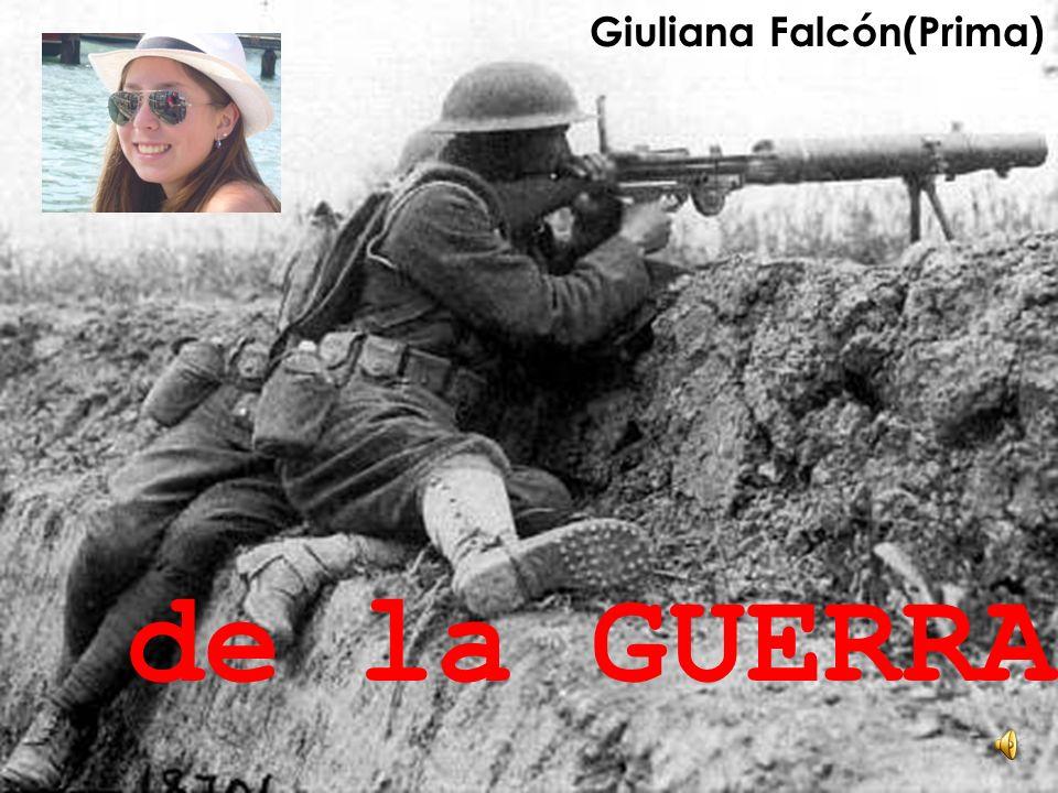 Giuliana Falcón(Prima) de la GUERRA