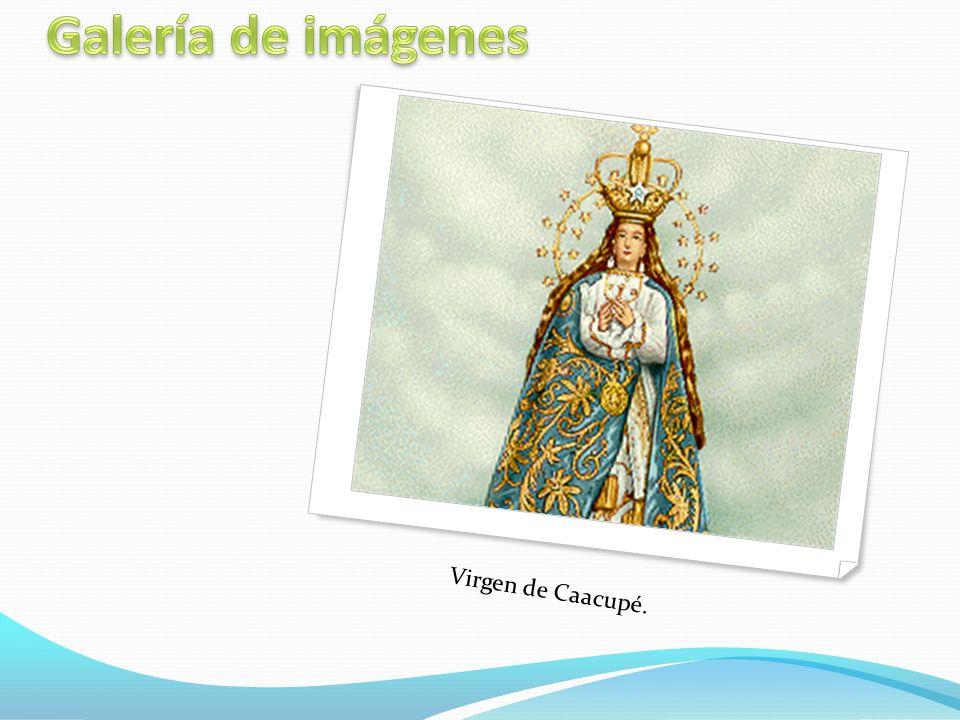 Virgen de Caacupé.