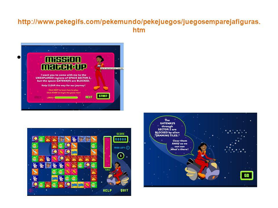 http://www.pekegifs.com/pekemundo/pekejuegos/juegosemparejafiguras. htm ñ