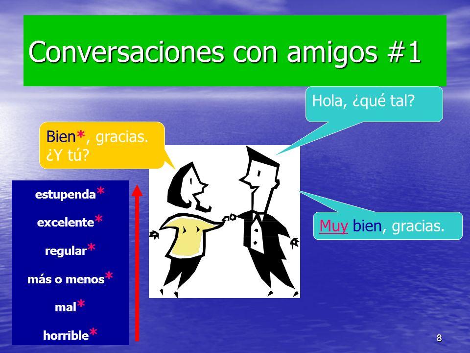 16/09/20098 Conversaciones con amigos #1 Hola, ¿qué tal.