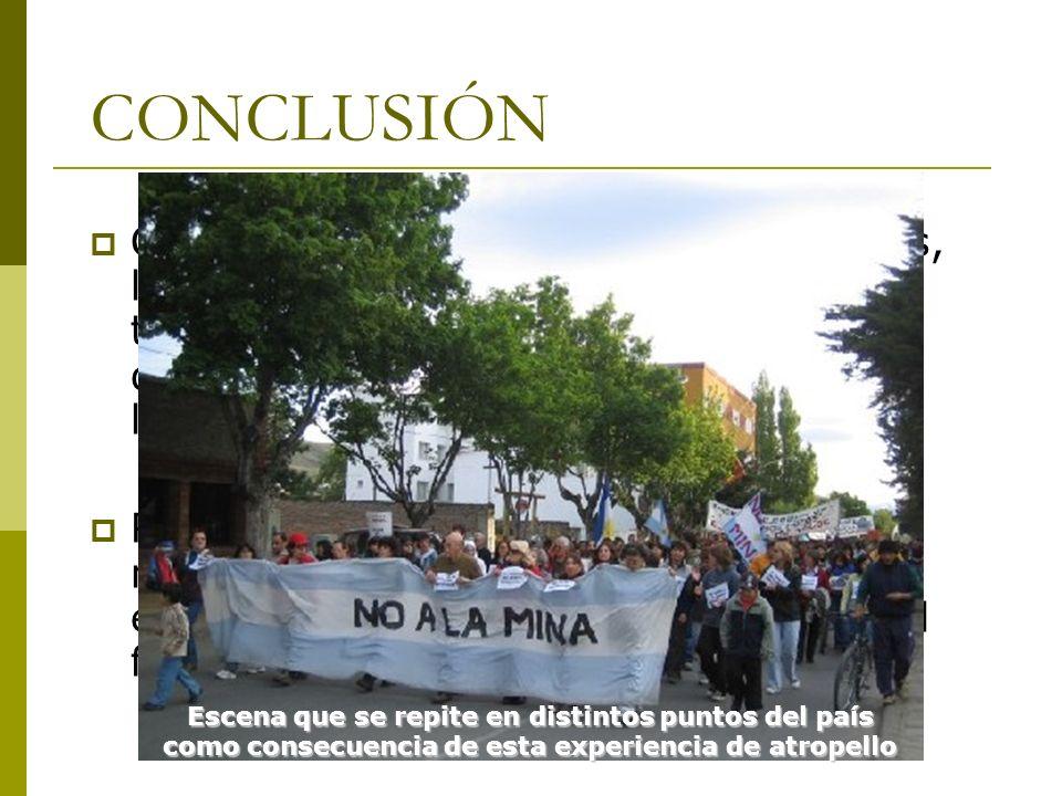 CONCLUSIÓN Como se observa, en líneas generales, la Argentina, ofrece mayores ventajas tributarias a los productores mineros, que el resto de los país