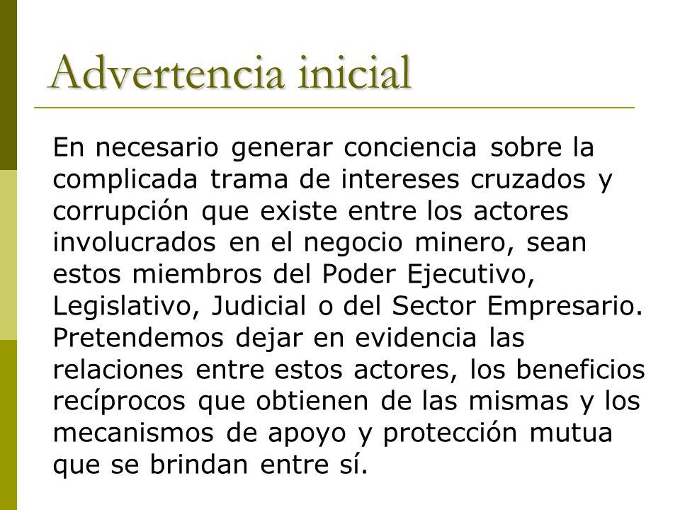 Ahora sabemos en qué consistió el Plan de Desarrollo Minero En los 90 se puso en marcha este Plan, una verdadera obra maestra de la entrega y de la liviandad administrativa en el manejo de la cosa pública, cuya política continúa vigente en la gestión de Néstor Kirchner.