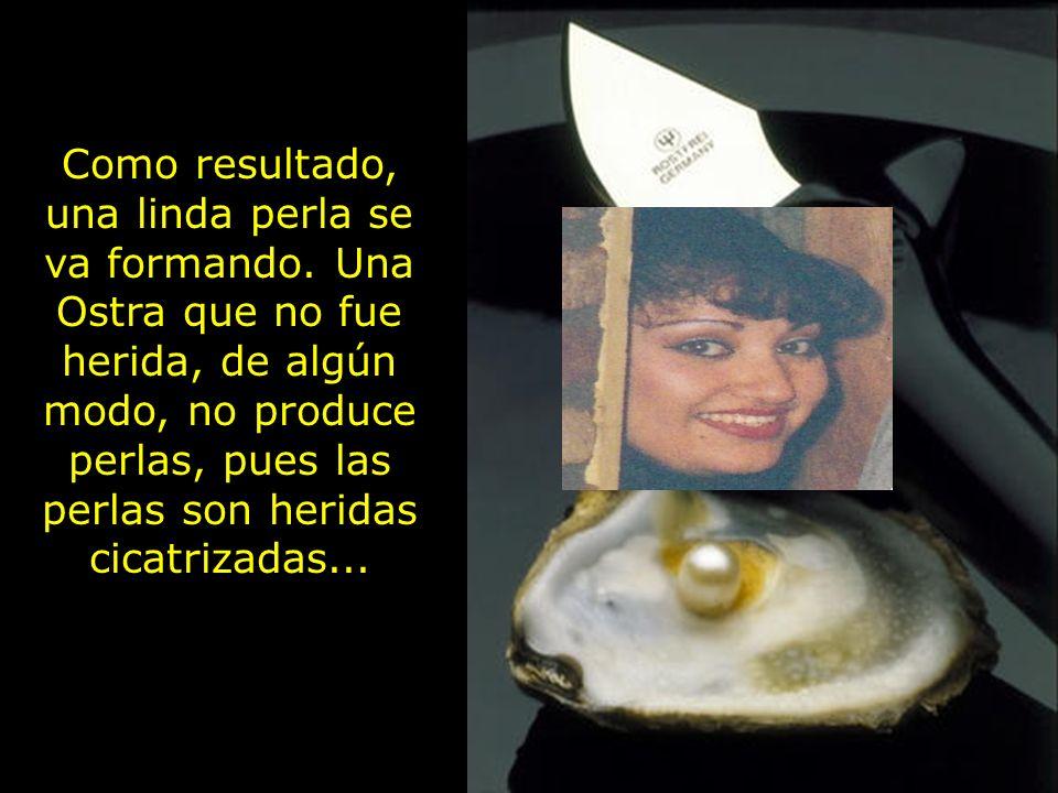 Fuiste herida muchas veces, pero Dios hizo de ti una perla Las perlas son para los príncipes de Dios.