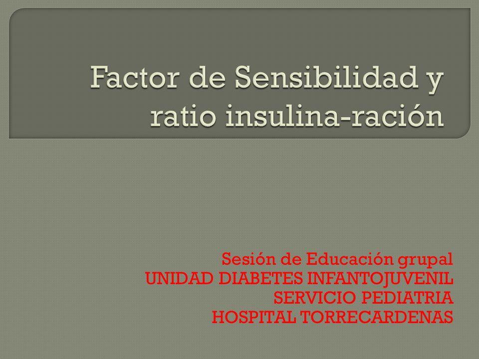 Sesión de Educación grupal UNIDAD DIABETES INFANTOJUVENIL SERVICIO PEDIATRIA HOSPITAL TORRECARDENAS