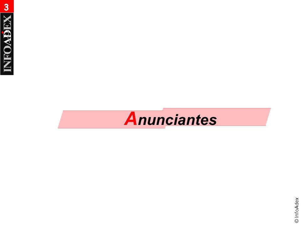 © InfoAdex Anunciantes 2006 3