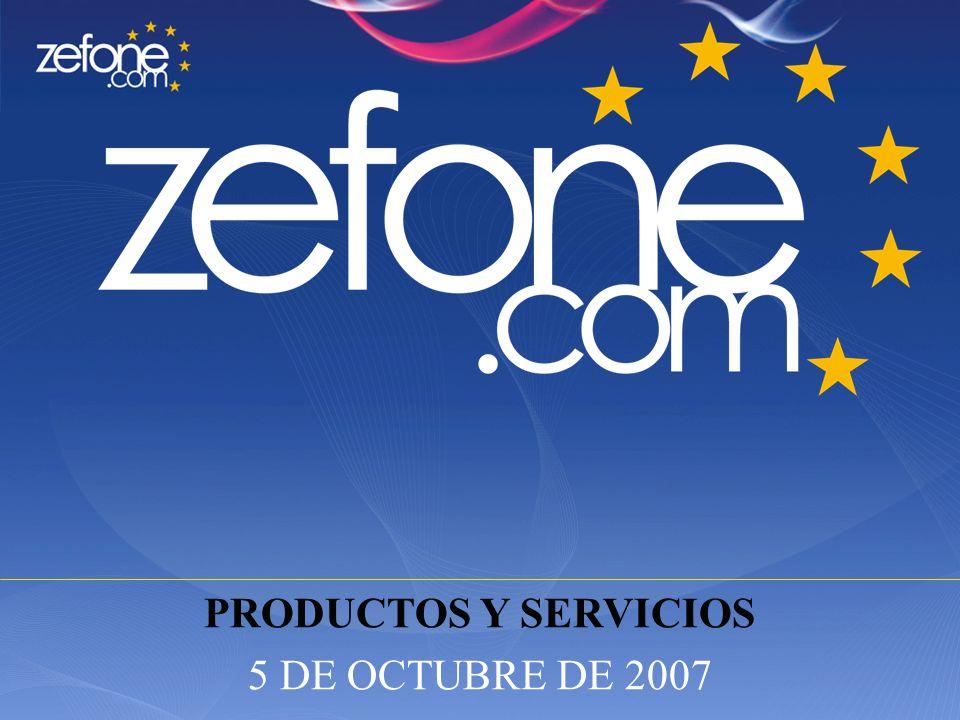 ` PRODUCTOS Y SERVICIOS 5 DE OCTUBRE DE 2007
