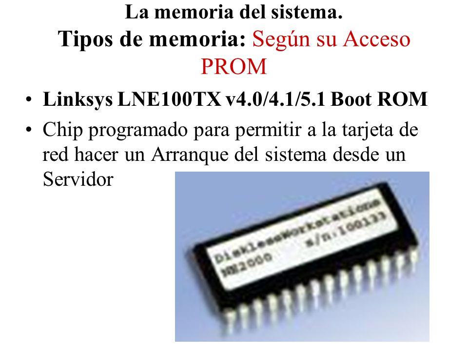 Linksys LNE100TX v4.0/4.1/5.1 Boot ROM Chip programado para permitir a la tarjeta de red hacer un Arranque del sistema desde un Servidor