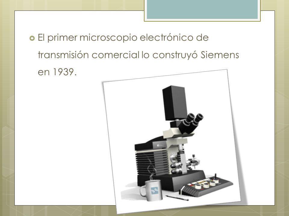 Partes fundamentales Las partes principales de un microscopio electrónico de transmisión son: Cañón de electrones, que emite los electrones que chocan o atraviesan el espécimen (dependiendo que tipo de microscopio electrónico es), creando una imagen aumentada.