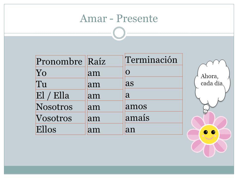 Ejercicio: Determina si los siguientes verbos son regulares.