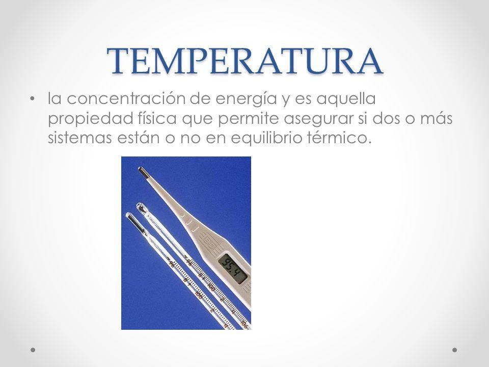 CALOR ESPECÍFICO Cantidad de calor necesaria para elevar la temperatura de una unidad de masa de una sustancia en un grado.