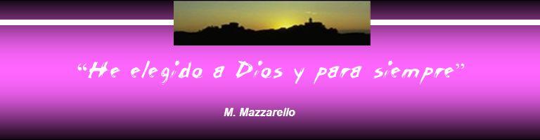 He elegido a Dios y para siempre M. Mazzarello