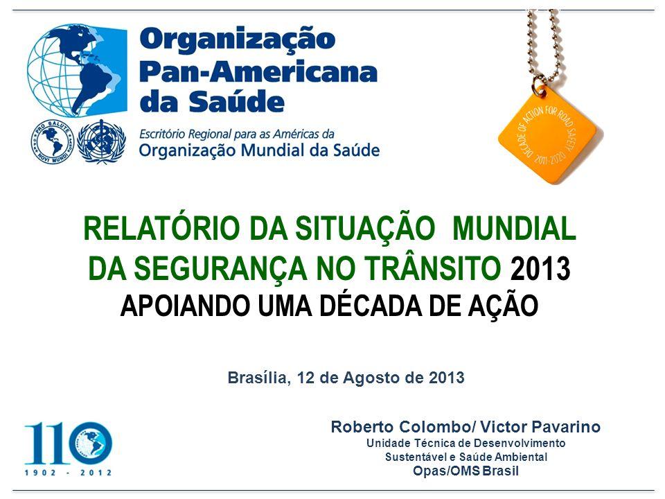 E NTRE OS PRINCIPAIS ENCAMINHAMENTOS DA C ONFERÊNCIA NA R ÚSSIA : A Carta de Moscou, convidando Assembleia Geral da ONU a declarar a Década de Ação para a Segurança no Trânsito 2011-2020; Aplicar recomendações do Relatório da Situação Mundial da Segurança no Trânsito (2009) Anúncio do Projeto Road Safety in Ten Countries RS-10 (no Brasil, Projeto Vida no Trânsito)
