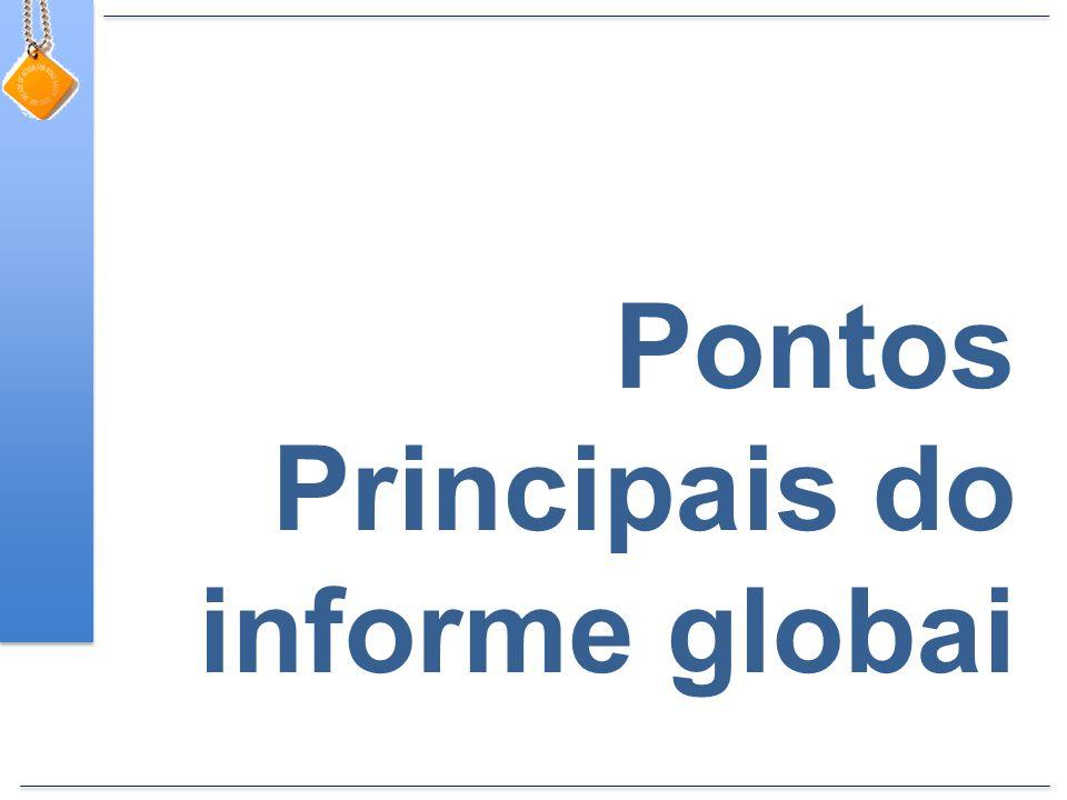 Pontos Principais do informe globai