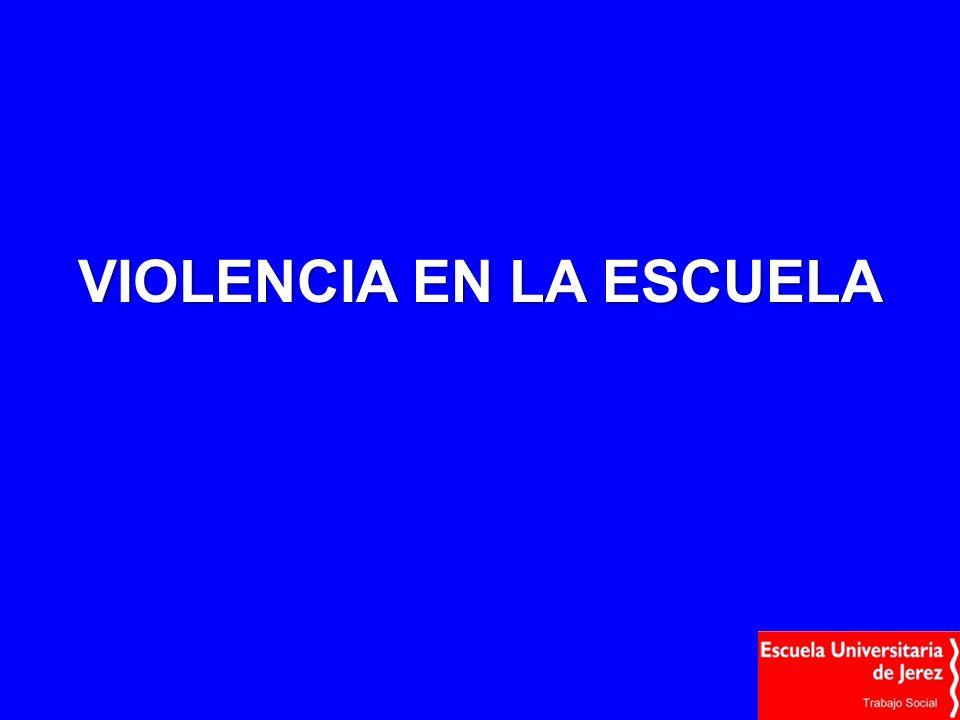 VIOLENCIA EN LA ESCUELA