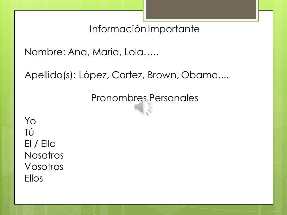 Clases de Español Facilitadora: Judith Pinto Patrocinadas por: Las Américas ASPIRA Academy, Charter School, DE