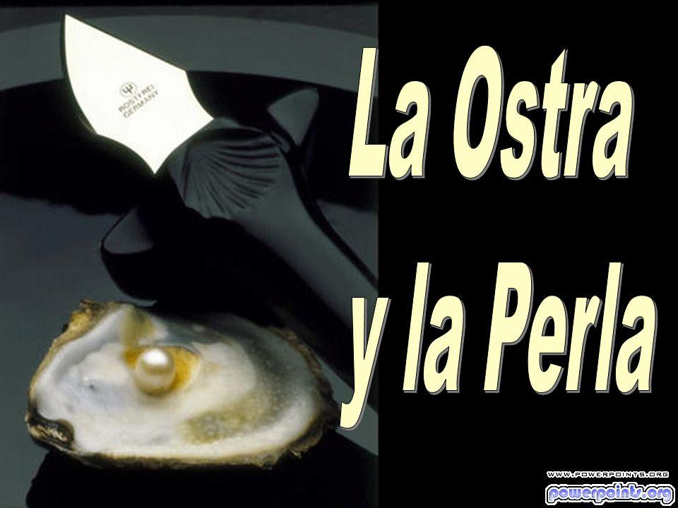 ...Una ostra que no fue herida no produce perlas Las perlas son heridas curadas!.