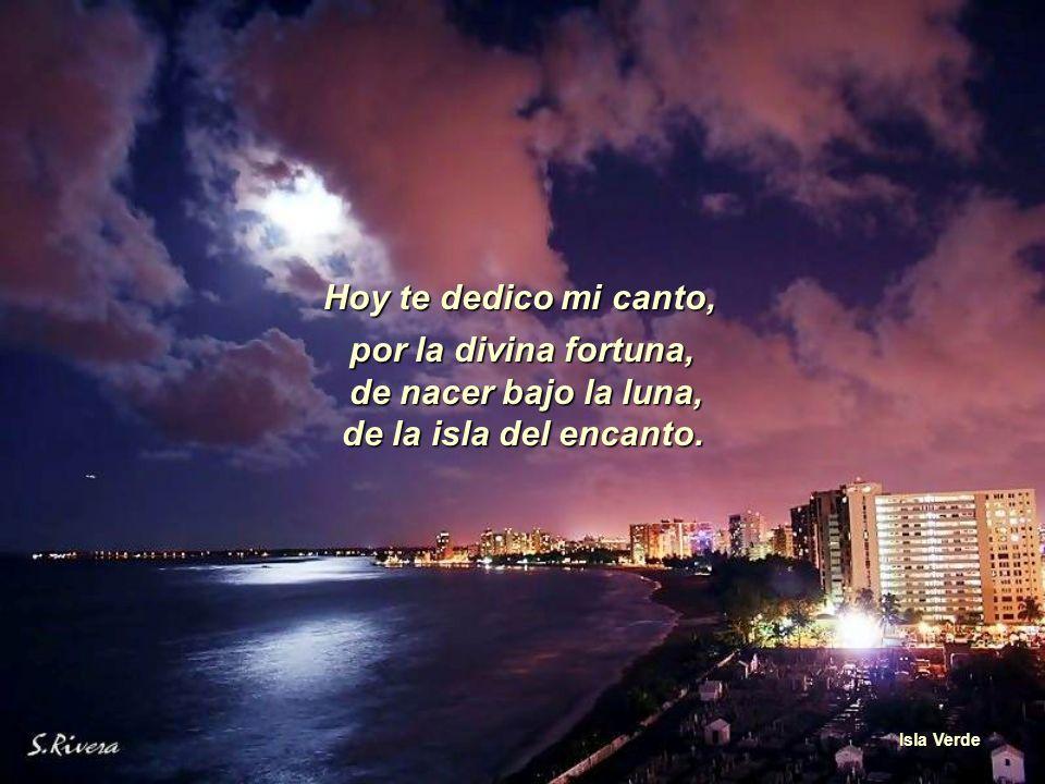 Tus melodías son conocidas en cualquier país, Muelle en San Juan por eso las canto en homenaje para ti.