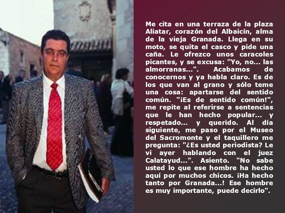 Entrevista realizada al juez de menores de Granada, D.
