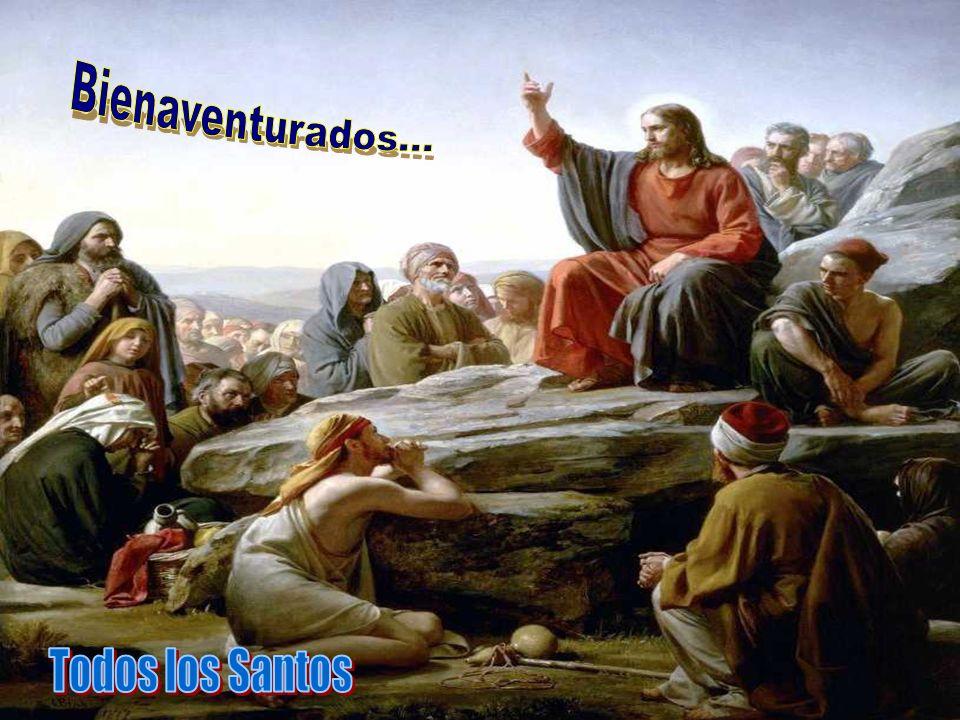 En el Evangelio, Jesús presenta un programa de Santidad, resumido en las BIENAVENTURANZAS.