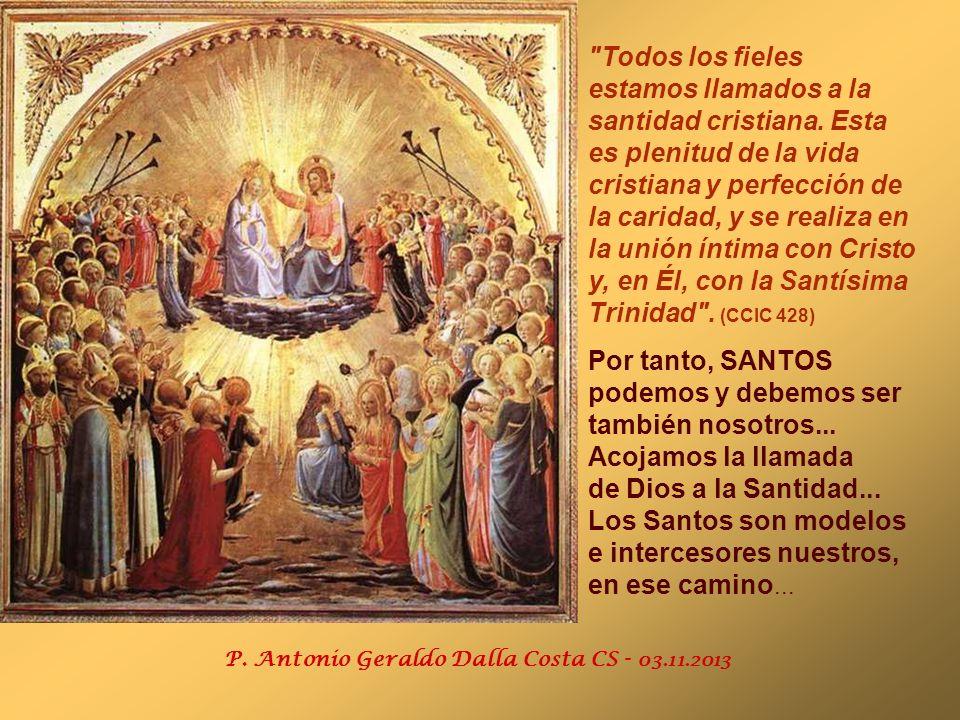 En el Evangelio, Jesús presenta un programa de Santidad, resumido en las BIENAVENTURANZAS. (Mt 5,1-12) El mejor CAMINO para la Santidad es la vivencia