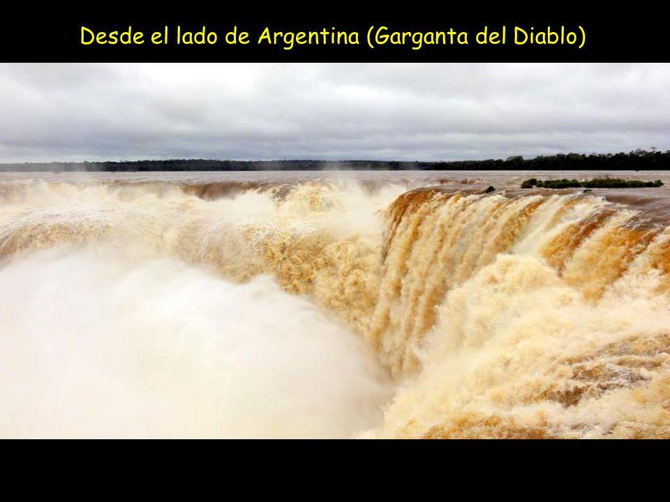 Desde el lado de Argentina (Garganta del Diablo)