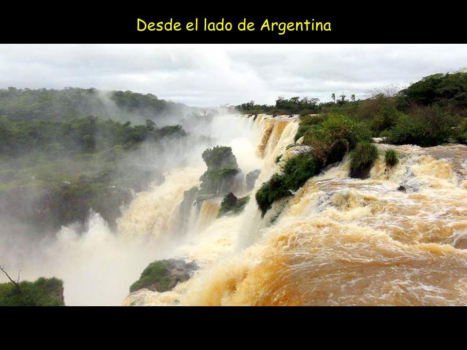 Desde el lado de Argentina
