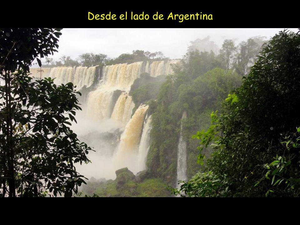 Desde el lado de Argentina (Isla de San Martin)