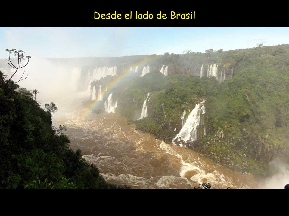 Desde el lado de Brasil