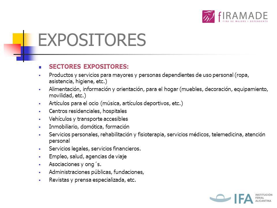 PLAN ESTRATÉGICO MARKETING El objetivo de FIRAMADE es unir como expositores tanto a instituciones, organismos, asociaciones y empresas privadas ayudando a su desarrollo y potenciación.