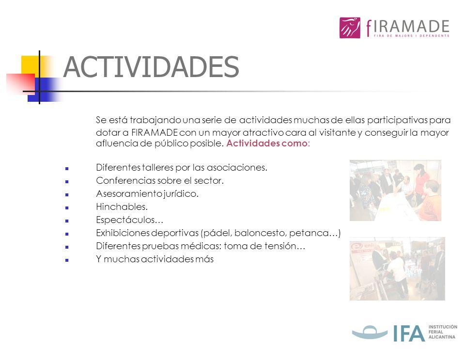 FICHA TÉCNICA DE FIRAMADE PÚBLICO OBJETIVO: todo tipo de público interesado en su bienestar y salud.