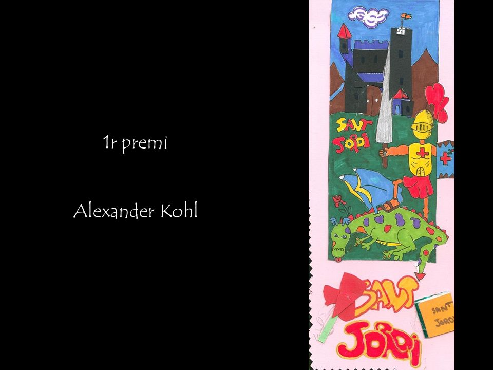 1r premi Alexander Kohl