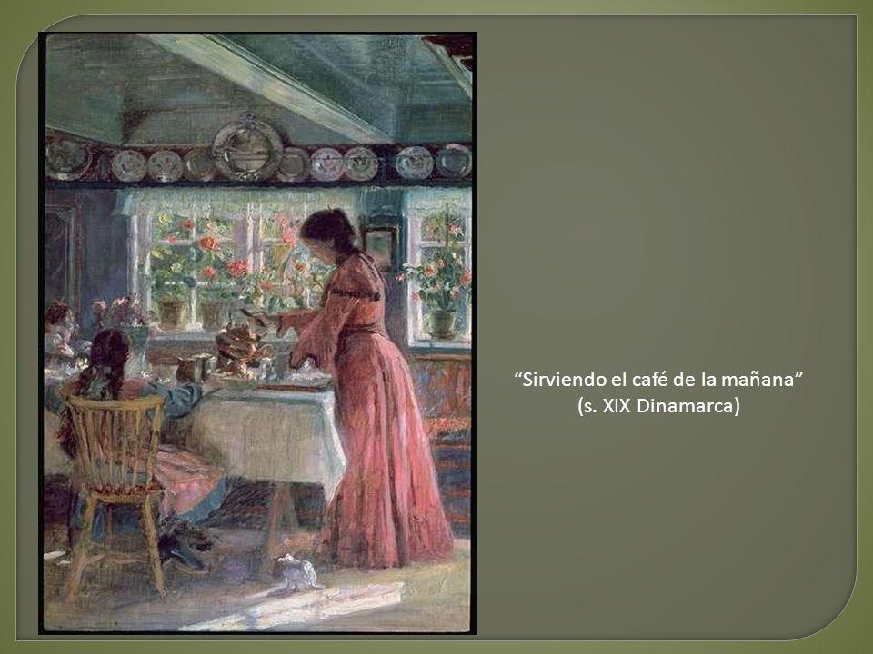 La hora del desayuno Hanna Pauli (s. XIX Suecia)