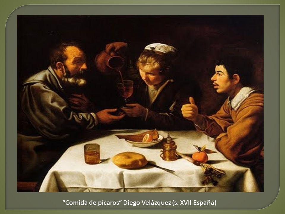 Comida de pícaros Diego Velázquez (s. XVII España)