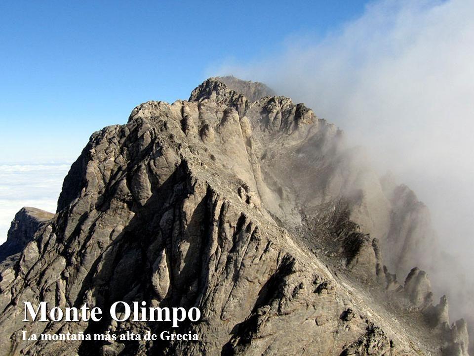 Monte Olimpo Monte Olimpo La montaña más alta de Grecia