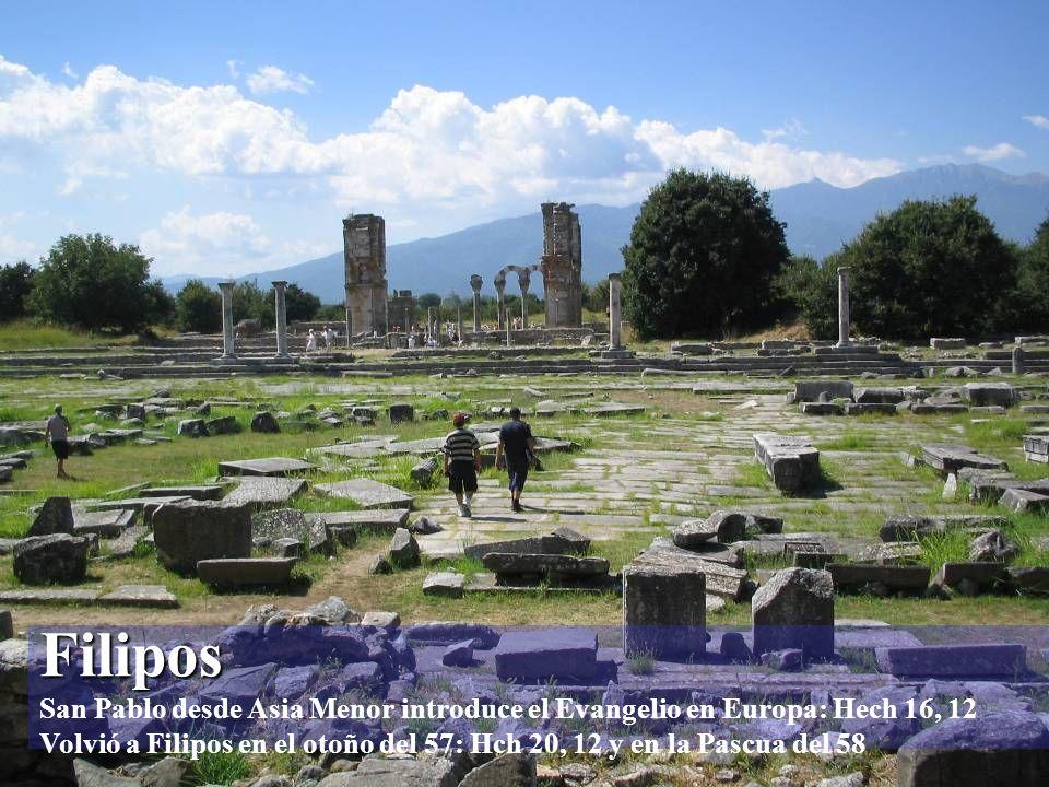 Kavala / Neápolis Kavala / Neápolis San Pablo desembarcó en Neápolis cuando llegó a Europa: Hech 16, 11 La actual Kavala en la época bizantina la ciud