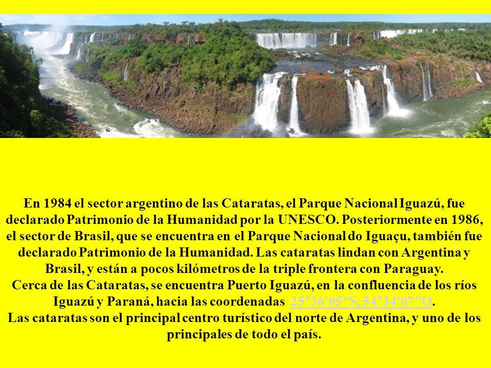 El descubrimiento de las Cataratas del Iguazú se debe a los conquistadores españoles que al mando de Alvaro Núñez Cabeza de Vaca, cuando por segunda v