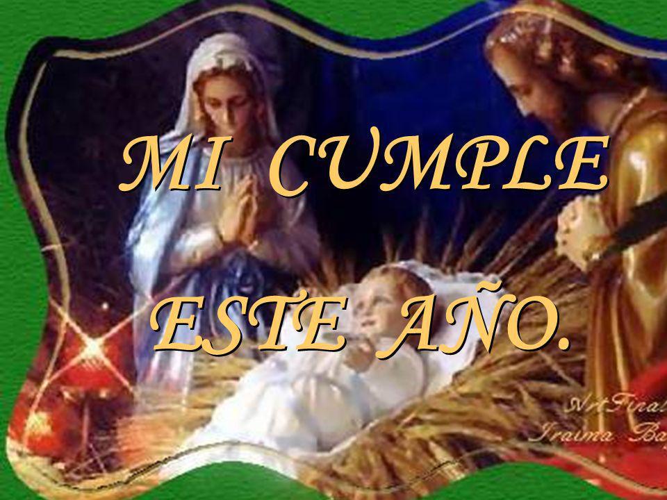 Quisiera que esta navidad me permitas entrar a tu vida, que reconocieras que hace dos mil años vine a este mundo para dar mi vida por ti en la cruz y de esta forma poder salvarte.