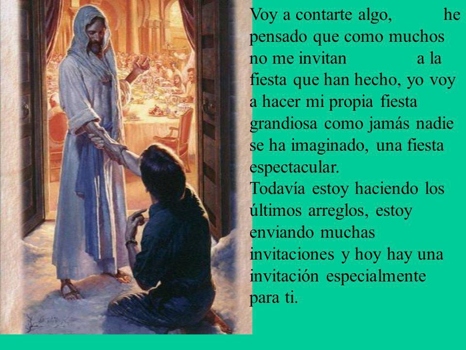. Quisiera que esta navidad me permitas entrar a tu vida, que reconocieras que hace dos mil años vine a este mundo para dar mi vida por ti en la cruz