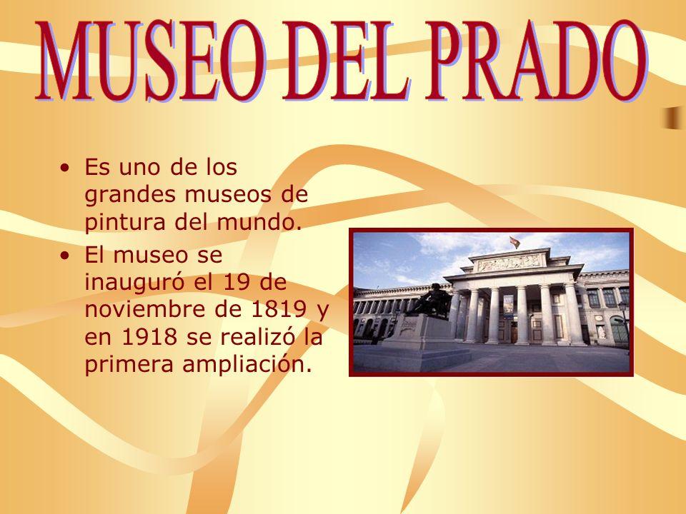 Es uno de los grandes museos de pintura del mundo.