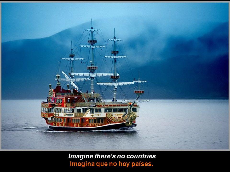 Imagine no possessions Imagina que no hay posesiones