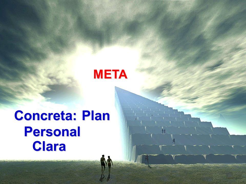 META Personal Clara Concreta: Plan