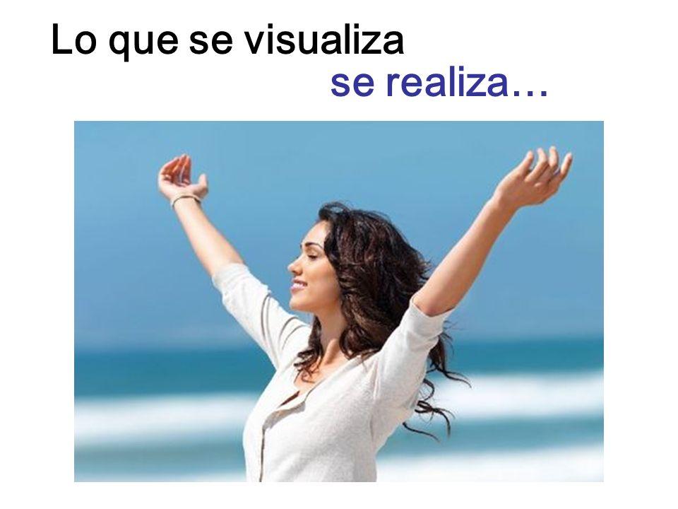 Lo que se visualiza se realiza…