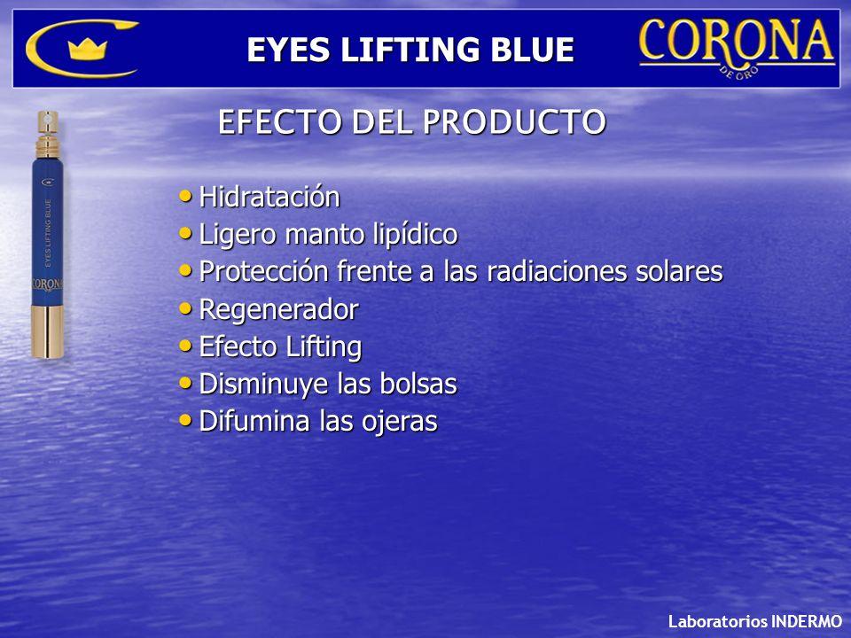 Hidratación Hidratación Ligero manto lipídico Ligero manto lipídico Protección frente a las radiaciones solares Protección frente a las radiaciones so