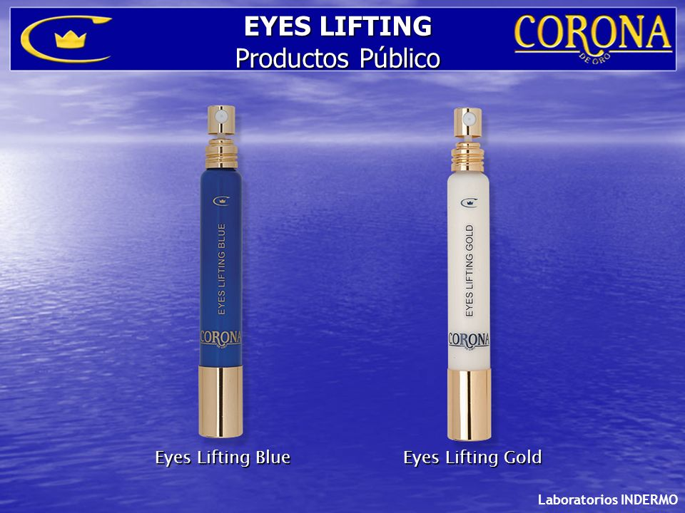 Laboratorios INDERMO Eyes Lifting BlueEyes Lifting Gold EYES LIFTING Productos Público