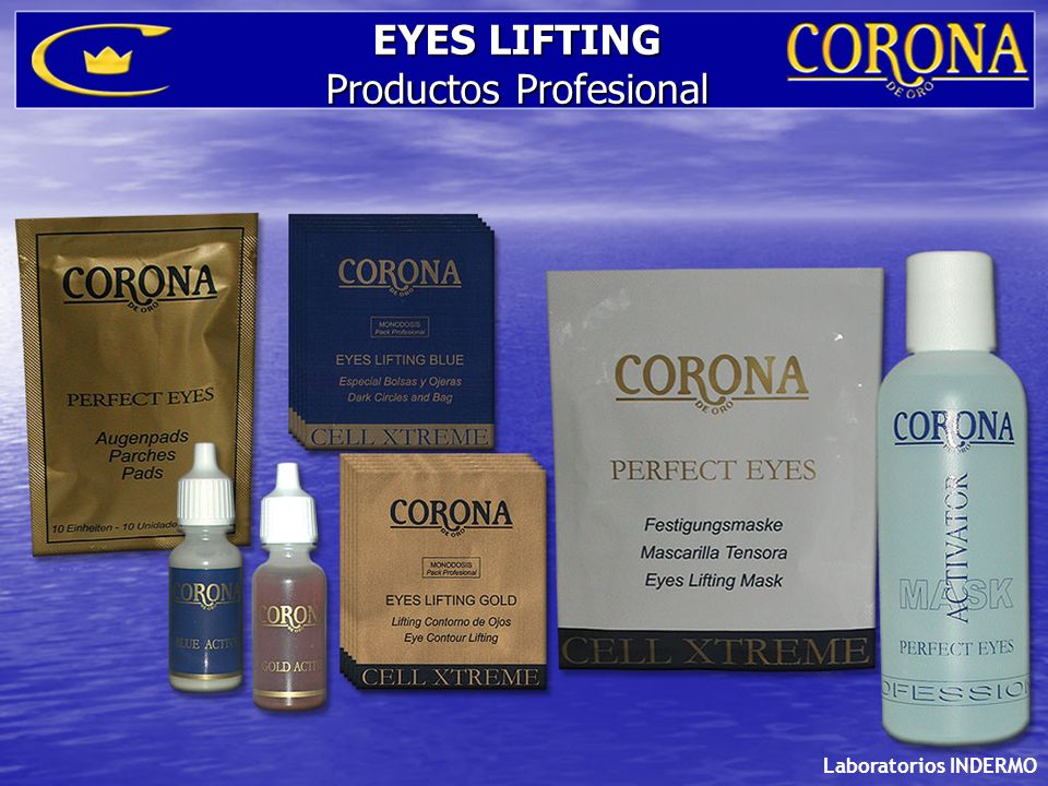 Laboratorios INDERMO EYES LIFTING Productos Profesional