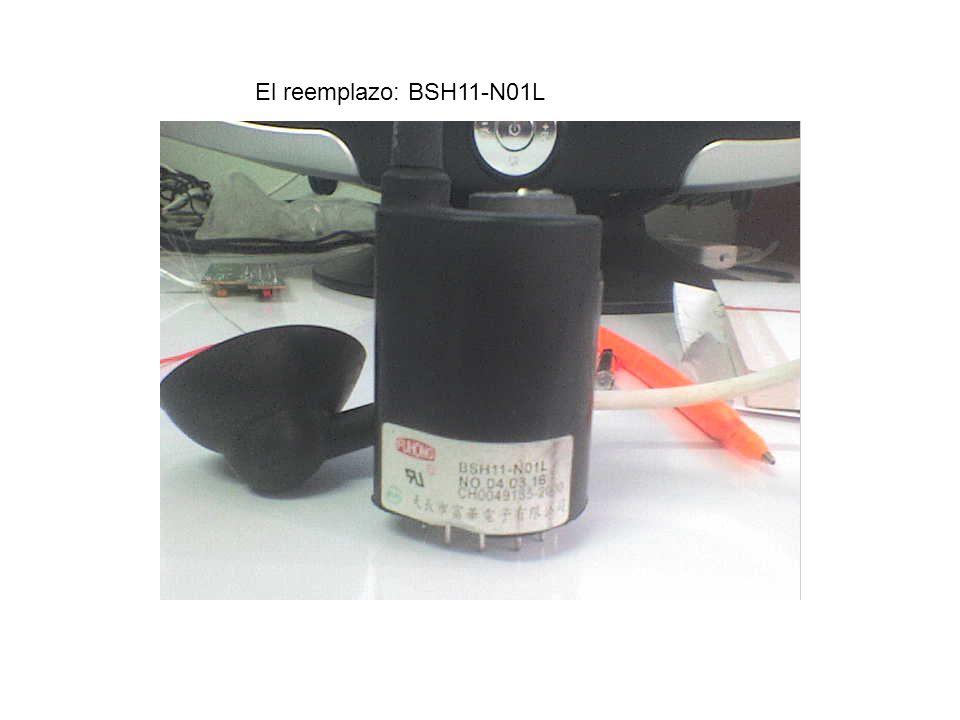 El reemplazo: BSH11-N01L