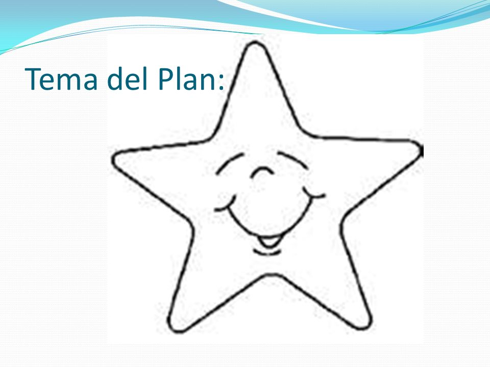 Tema del Plan: