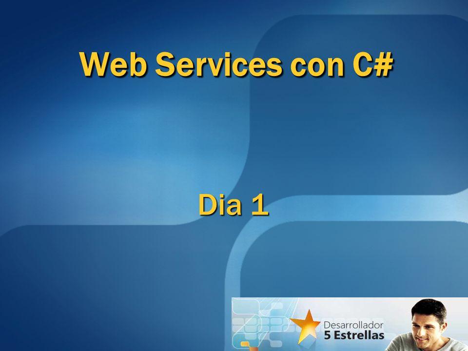 Dia 1 Web Services con C#