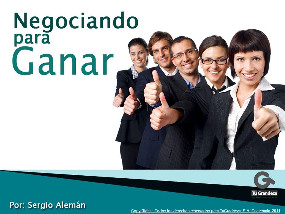 1 Copy Right – Todos los derechos reservados para TuGradneza S.A. Guatemala 2011
