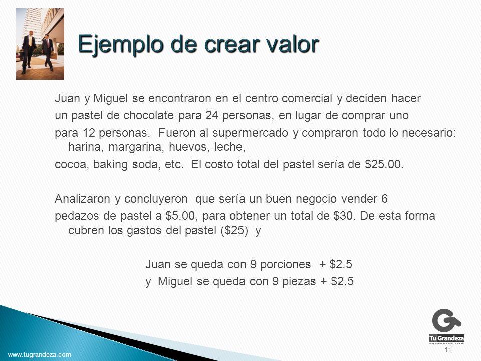Juan y Miguel se encontraron en el centro comercial y deciden hacer un pastel de chocolate para 24 personas, en lugar de comprar uno para 12 personas.